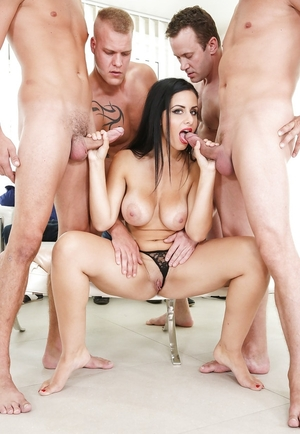 Xxx movie star with hot temper tastes knobs and gives openings for hard bonking