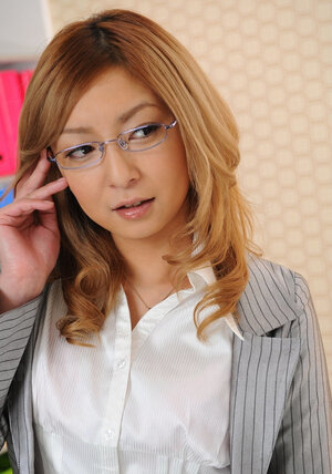 Glamorous Japanese secretary is each time ready to answer a call and additionally pose being clothed