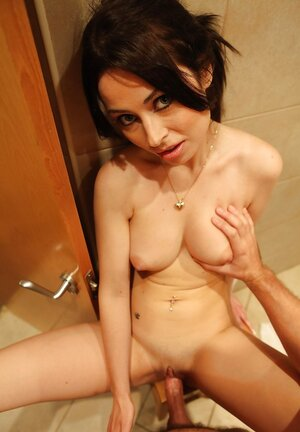 Cutie pie enjoys tight cum bucket being fucked by client who tips her for sexual delight